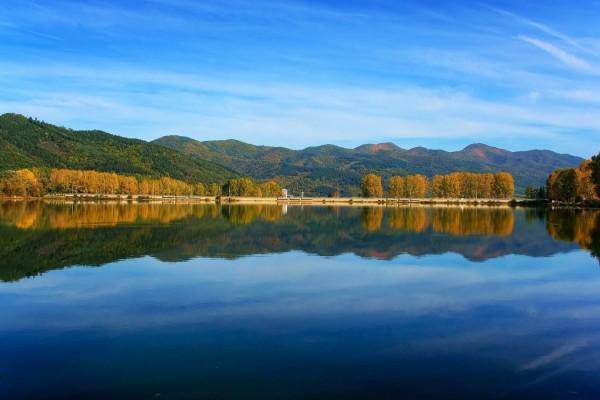 Las vistas desde el lago