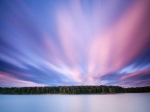 Postal: Un cielo precioso
