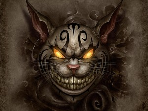 "Gato de Cheshire ""Alice Madness Returns"""