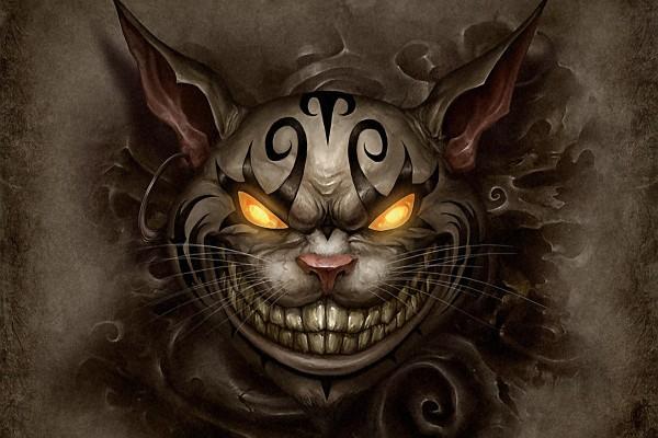 """Gato de Cheshire """"Alice Madness Returns"""""""