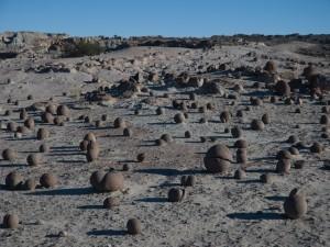 Cancha de bochas, Ischigualasto (Argentina)
