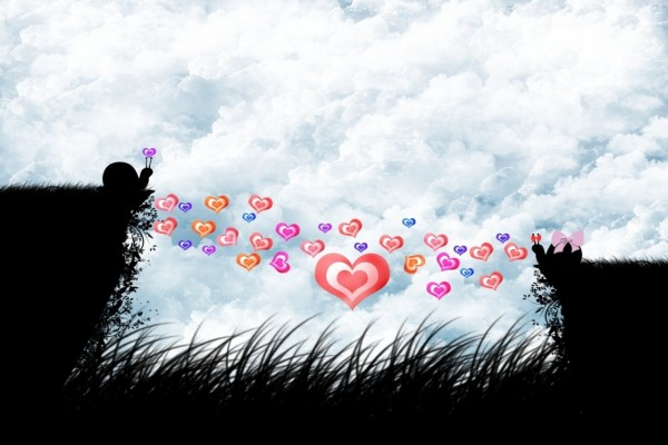 Caracoles enamorados