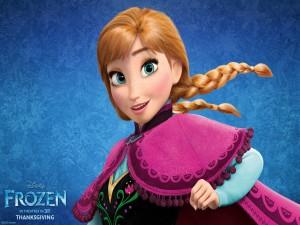 Postal: Anna de la película: Frozen