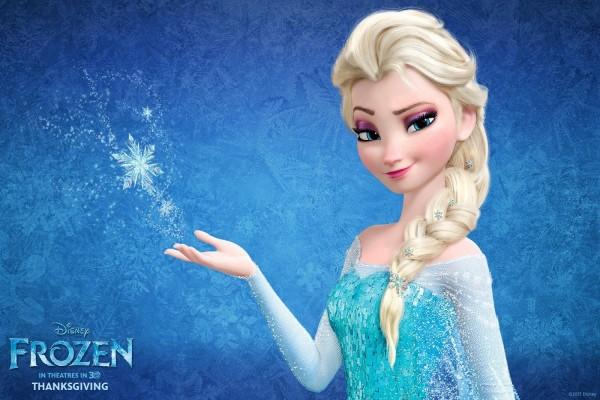 Elsa de la película: Frozen