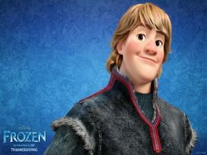Postal: Kristoff, personaje de Frozen: El Reino del Hielo