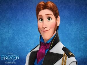 Postal: Hans, personaje de Frozen