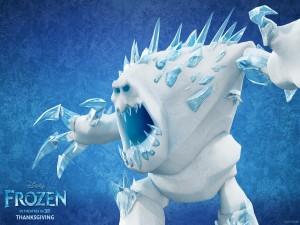 """Postal: Malvavisco, personaje de """"Frozen: Una Aventura Congelada"""""""