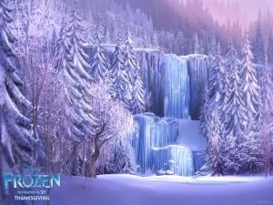 Paisaje de la película Frozen