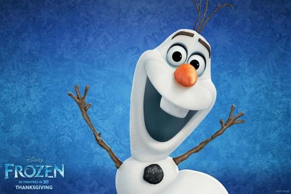 Olaf, muñeco de nieve en Frozen: Una Aventura Congelada