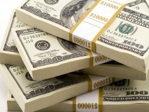 Gran suma de dólares