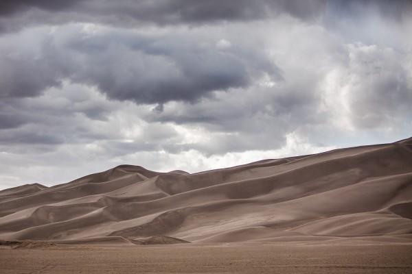 Nubes sobre las dunas