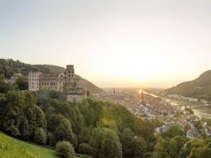 Postal: Ciudad de Heidelberg (Alemania)