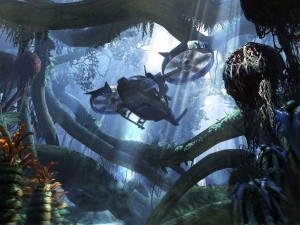 Helicóptero en James Cameron's Avatar: The Game