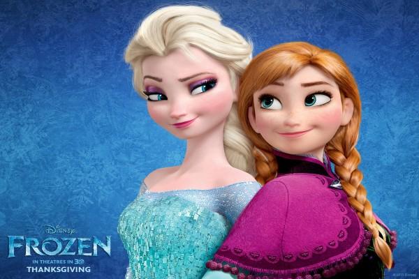 """Elsa y Anna """"Frozen"""""""
