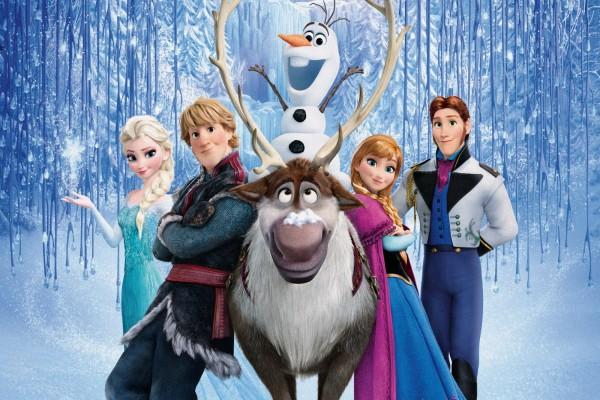 """Personajes principales de """"Frozen: Una Aventura Congelada"""""""