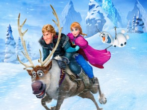 Postal: Escena de la película: Frozen