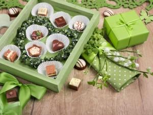 Bocaditos de chocolate, para regalar a un gran amor