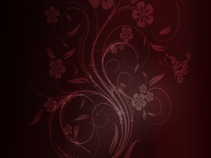 Postal: Dibujo de flores