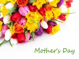 Bellas flores para el Día de la Madre