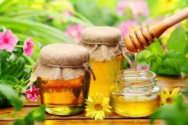 Tarros con dulce miel