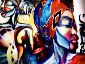 Arte urbano afro
