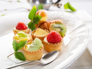 Pastelitos de frutas