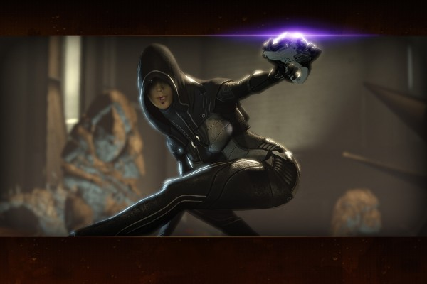 "Kasumi Goto ladrona en ""Mass Effect 2"""