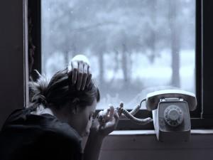 Postal: Esperando una llamada
