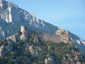 Postal: Castillo de Puilaurens (Francia)