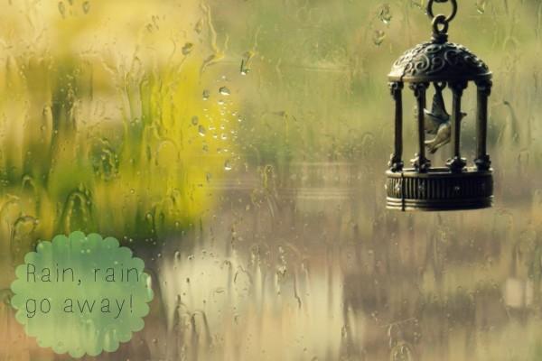 ¡Lluvia, lluvia vete!