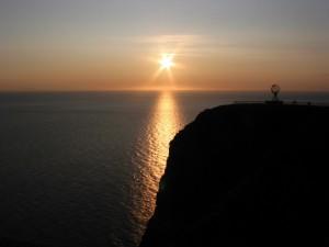 Postal: El sol en forma de estrella