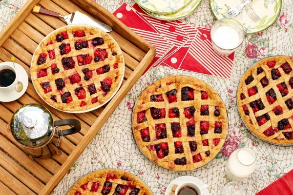 Repostería casera: tartas con frutos rojos