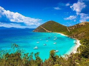 Postal: Vistas a una bonita playa