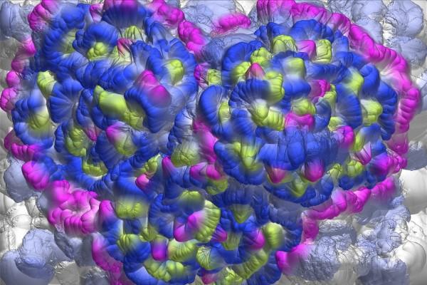 Gráficos en 3D de varios colores