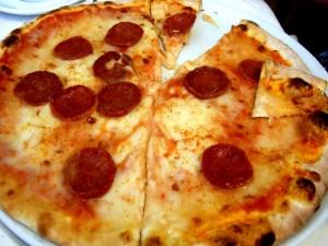Postal: Pizza con pepperoni