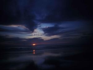 El último reflejo del sol