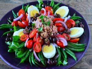 Bonita y deliciosa ensalada