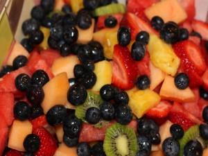 Postal: Frutas para el postre
