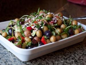 Ensalada de mini patatas