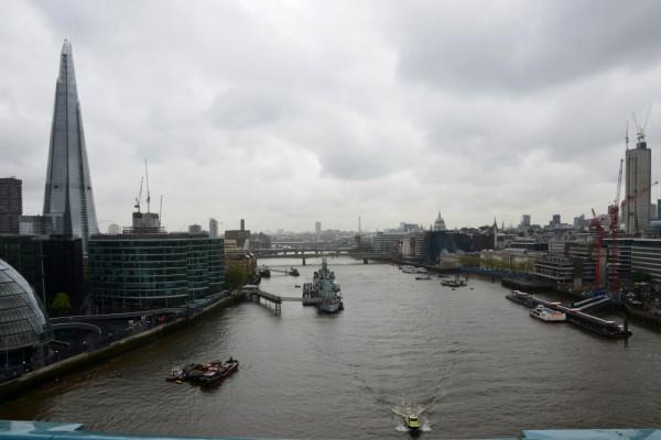 El río Támesis (Londres)