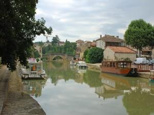 El río Baïse en Nérac (Francia)