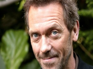 El actor Hugh Laurie