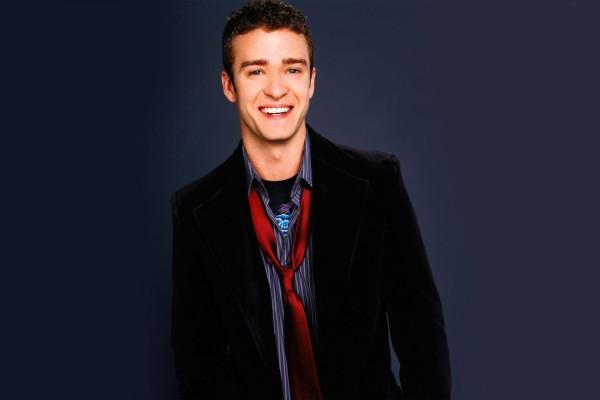 Un joven Justin Timberlake