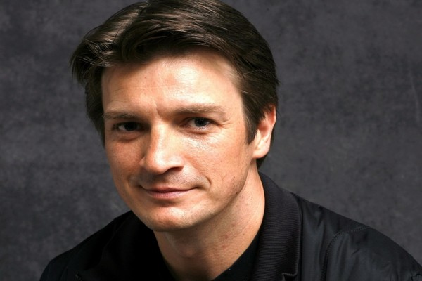 El actor Nathan Fillion