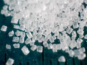 Postal: Cristales de azúcar