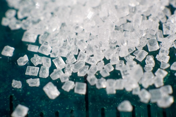 Cristales de azúcar