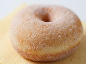 Donut cubierto de azúcar