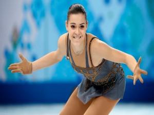 La patinadora artística Adelina Sotnikova