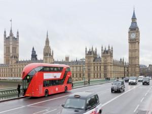 Postal: Tráfico en Londres
