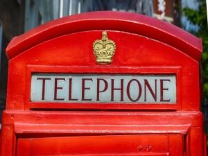 Postal: Cabina telefónica en Londres